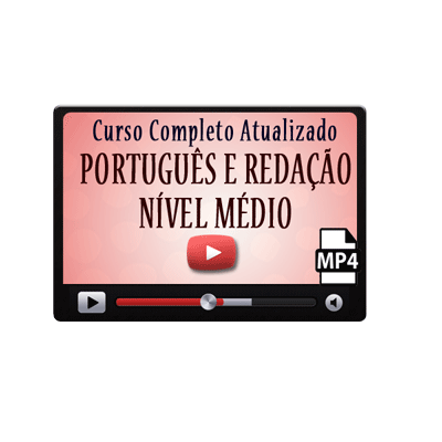 Curso Português Enem Concurso Vestibular Médio Vídeo Aula Download