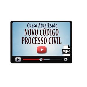 Novo Código Processo Civil Cpc Curso Vídeo Aulas Preparatório