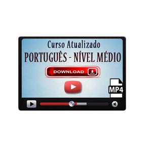 Português para Concurso Enem Vestibular – Nível Médio Curso Videoaula Download