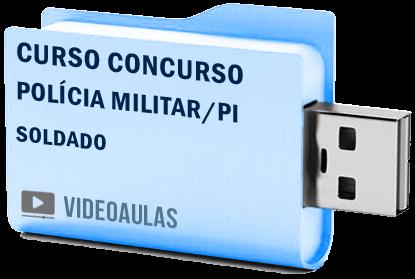 Curso Concurso Polícia Militar PI Soldado Qppm Videoaulas Pendrive