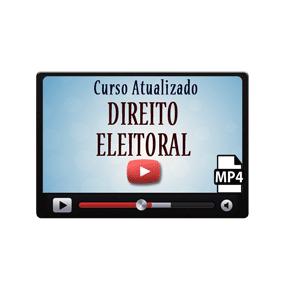 Direito Eleitoral Curso Vídeo Aulas Preparatório
