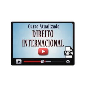 Direito Internacional Curso Vídeo Aula Preparatório