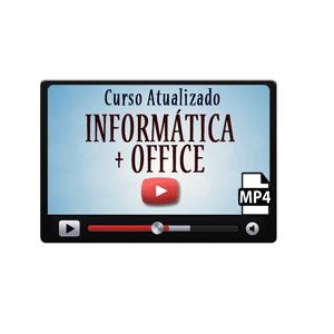 Informática Windows Office Word Excel Curso Vídeo Aula