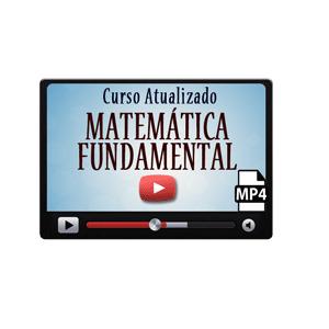 Curso Vídeo Aulas Matemática Iniciantes Fundamental Concursos ENEM Vestibular