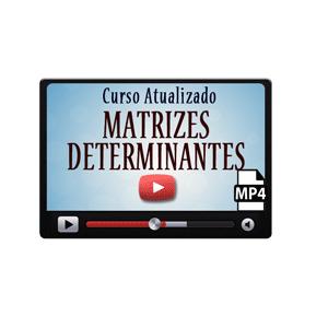 Matrizes Determinantes Sistemas Lineares Curso Vídeo Aulas Download