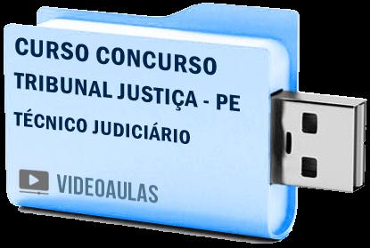 Curso Concurso Tribunal Justiça PE Técnico Judiciário Vídeo Aula