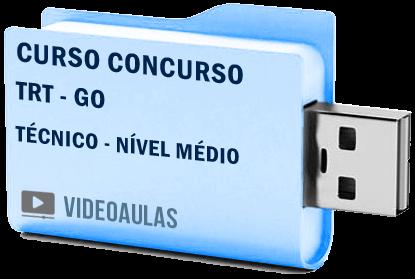 TRT Goiás Técnico Nível Médio Curso Vídeo Aulas Concurso