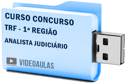 TRF 1ª Região Analista Judiciário Curso Vídeo Aulas Concurso