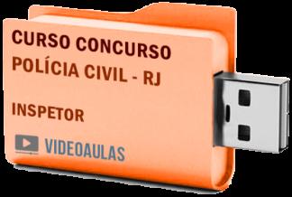 Concurso Polícia Civil RJ 2019 – Inspetor – Curso Videoaulas
