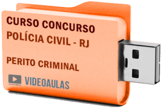 Concurso Polícia Civil RJ 2019 – Perito Criminal – Curso Videoaulas