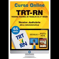 Curso Online TRT 21º Região – Técnico Judiciário – Área Administrativa