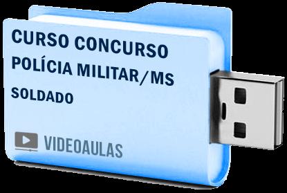 Curso Vídeo Aulas Concurso Polícia Militar – MS – Soldado