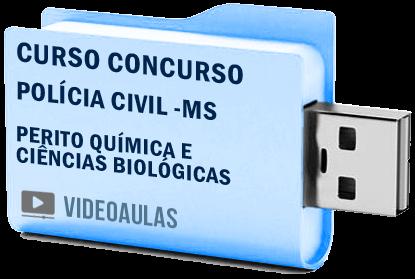 Curso Vídeo Aulas Concurso Polícia Civil MS – Perito Química e Ciências Biológicas