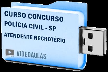 Curso Vídeo Aulas Concurso Polícia Civil SP – Atendente Necrotério
