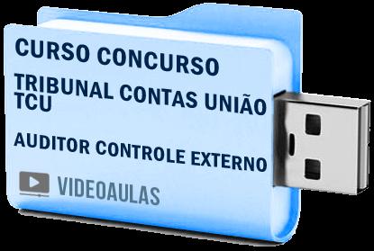 Curso Concurso Vídeo Aula Tribunal Contas União TCU Auditor Controle Externo 2018