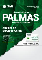 Apostila Câmara Municipal de Palmas – TO 2018 – Auxiliar de Serviços Gerais