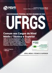 Apostila UFRGS 2018 – Comum aos Cargos de Nível Médio/Técnico e Superior