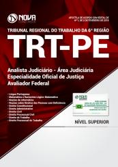 Apostila TRT – PE 2018 – Analista Judiciário – Área Judiciária – Especialidade Oficial de Justiça Avaliador Federal