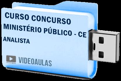 Curso Vídeo Aulas Concurso Ministério Público – CE – Analista 2018 – Pendrive