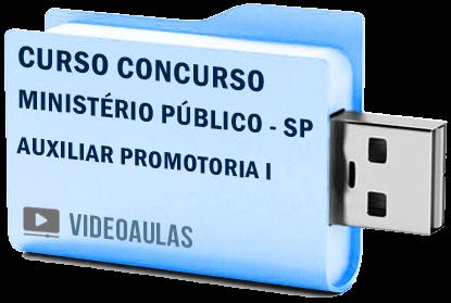 Curso Vídeo Aulas Concurso Ministério Público – SP – Auxiliar Promotoria I