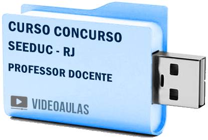 Curso Vídeo Aulas Concurso SEEDUC – RJ – Professor Docente – Pendrive