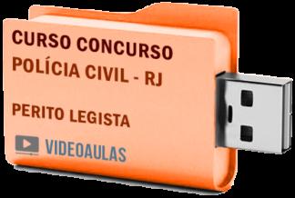 Concurso Polícia Civil – RJ – Perito Legista 2019 – Curso Videoaulas