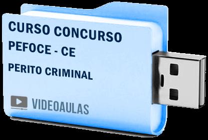 Curso Concurso PEFOCE – CE – Perito Criminal – Videoaulas Pendrive
