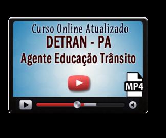 Curso Online Concurso DETRAN – PA – Agente Educação Trânsito – Vídeo Aulas