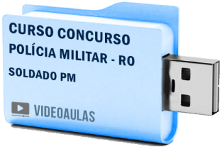 Curso Concurso Polícia Militar RO Soldado PM Videoaulas