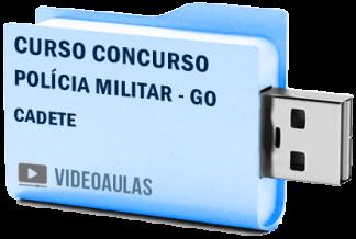Curso Concurso Polícia Militar GO Cadetes Vídeo Aulas