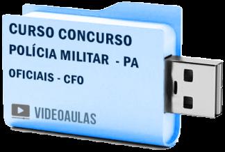 Curso Concurso Polícia Militar PA – Oficiais CFO Vídeo Aulas