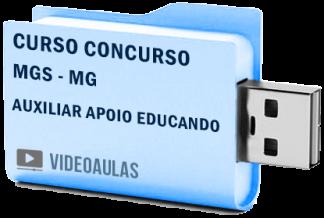 Curso Concurso MGS MG – Auxiliar Apoio ao Educando 2019