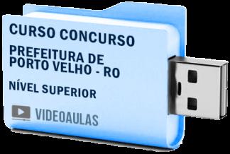 Curso Concurso Prefeitura de Porto Velho RO – Nível Superior 2019