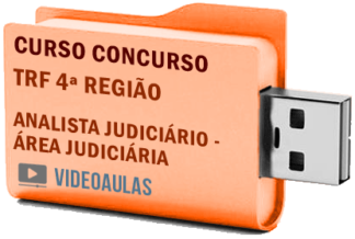Concurso TRF 4ª Região – Analista Judiciário – Área Judiciária Curso Videoaulas