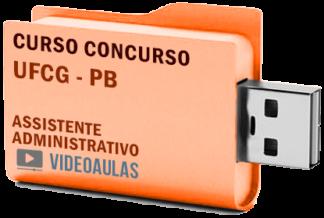 Concurso UFCG PB – Assistente Administrativo Curso Videoaulas