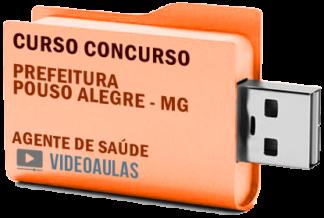 Concurso Prefeitura Pouso Alegre – MG – Agente de Saúde Curso Videoaulas