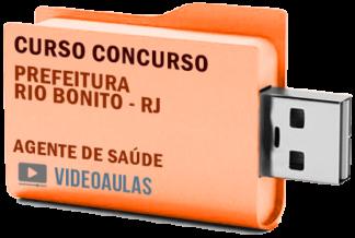 Concurso Prefeitura Rio Bonito – RJ – Agente de Saúde Curso Videoaulas