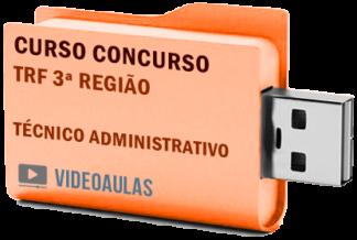 Concurso TRF 3ª Região Técnico Administrativo Curso Videoaulas
